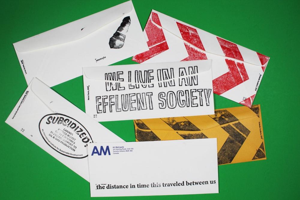 correspondence art, mail art, art metropole, envelopes, art envelopes, rolande souliere, society